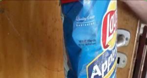 Jak wyglądają chipsy 9 lat po upływie terminu przydatności?