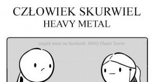 Człowiek Skurwiel - Heavy Metal