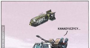 Kanadyjczycy bombardują ISIS