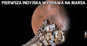 Pierwsza indyjska wyprawa na Marsa