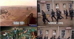 A w Mińsku po staremu