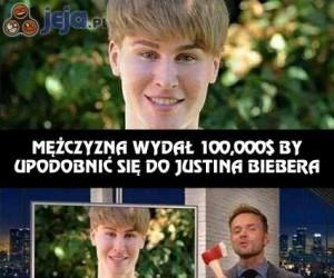 Przemiana w Justina