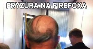 Fryzura na Firefoxa