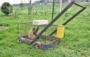 Kosiarka z napędem królikowym