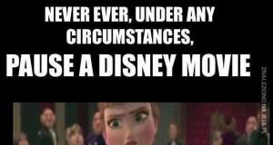 Nigdy nie zatrzymuj bajek Disneya
