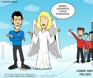 Świat bez Spocka nie jest taki sam...