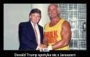 Donald Trump spotyka się z Januszem Korwin-Mikkem na sterydach