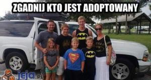 Zgadnij kto jest adoptowany?