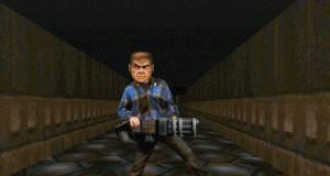 Gdy bujam się korytarzem