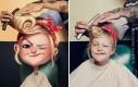 Artysta wyszukuje zdjęcia losowych ludzi i przerabia je na ilustracje