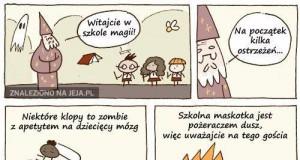Witajcie w szkole magii