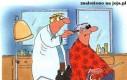 Niewidomy u fryzjera