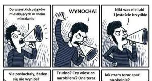 Przyczajone pająki cz.2
