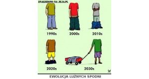 Ewolucja luźnych spodni