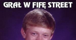 Grał w Fifę Street