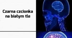 Uwielbiam czytelne memy