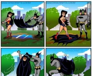 O tym, jak Batman zdobył Wonder Woman