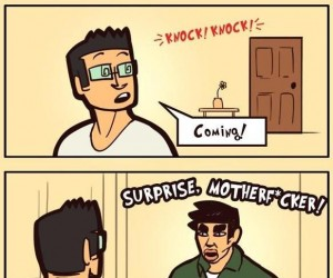 Niespodzianka!