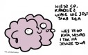 Mózgu, uspokój się...