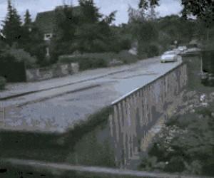 Skuteczny sposób na wariatów na drodze