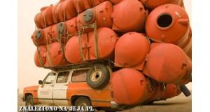 Królowie załadunku - pomarańczowe zbiorniki