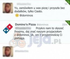 Problem z pizzą