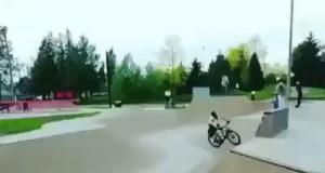 Nowy trik: chiński rower 360