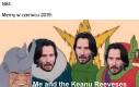 Ja i Keanu Reevesy