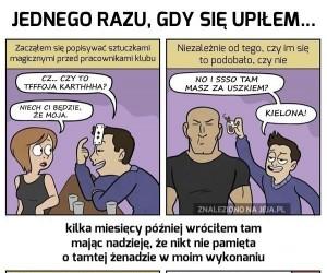Prawdziwe pijackie opowieści z formie komiksów cz. 3
