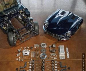 Silnik rozebrany na części pierwsze