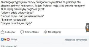 Polskie huragany