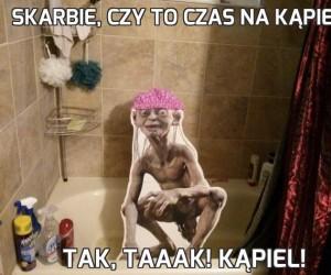 Skarbie, czy to czas na kąpiel?