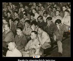 Reakcja niemieckich jeńców