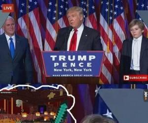 Syn Trumpa chce do domu