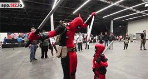Mały Deadpool to wciąż niebezpieczny Deadpool