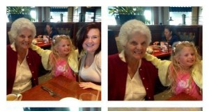 Piękny uśmiech, babciu! Babciu...?