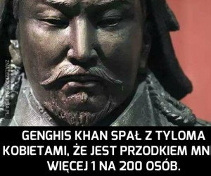 A może jesteś wnukiem starego Khana?