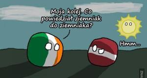 Co powiedział ziemniak do ziemniaka?