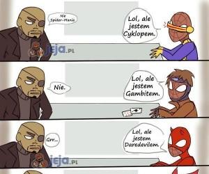 Nie możesz być Avengersem Spider-Manie