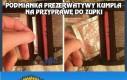 Podmianka prezerwatywy kumpla na przyprawę do zupki