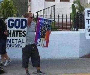 Bóg nienawidzi metalu
