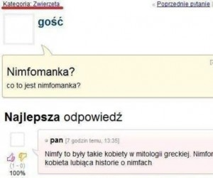 Co to nimfomanka?