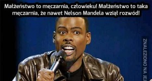 Nawet Mandela nie wyrobił
