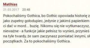 Gothic to takie przygody Polaka zagranicą