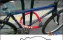 Zabezpieczony rower