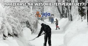 Narzekasz na wysokie temperatury?