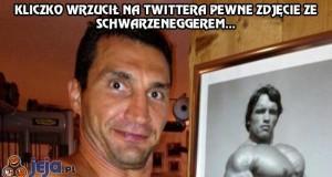 Kliczko i Schwarzenegger