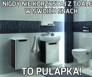 Wyśniona toaleta