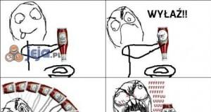 Kiedy jest mało ketchupu...