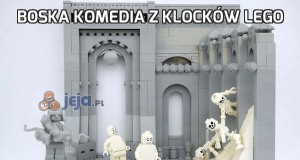 Boska komedia z klocków Lego